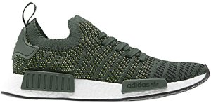 adidas  NMD R1 STLT Trace Olive Trace Olive/Core Black/Solar Lime (CQ2389)
