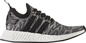 adidas  NMD R2 Black White Future Harvest Core Black/Core Black/Footwear White (BY9409)