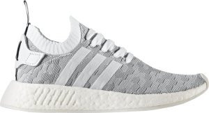 adidas  NMD R2 White (W) Footwear White/Footwear White/Core Black (BY9520)