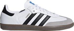 adidas  Samba White Black Gum Cloud White/Core Black/Clear Granite (B75806)