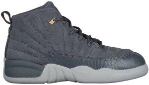 Jordan  12 Retro Dark Grey (PS) Dark Grey/Dark Grey-Wolf Grey (151186-005)