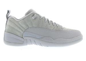 Jordan  12 Retro Low Wolf Grey Wolf Grey/Armory Navy-Electrolime (308317-002)