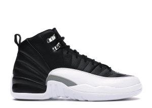 Jordan  12 Retro Playoffs 2012 (GS) Black/Varsity Red-White (153265-001)