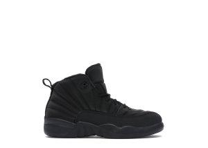 Jordan  12 Retro Winter Black (PS) Black/Black-Anthracite (BQ6850-001)