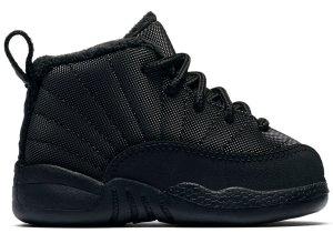 Jordan  12 Retro Winter Black (TD) Black/Black-Anthracite (BQ6853-001)