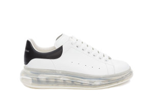 Alexander McQueen  Oversized Clear Sole Black White (604232WHX989061)