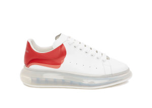Alexander McQueen  Oversized Clear Sole Lust Red White (604233WHX999676)