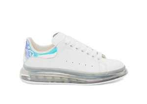 Alexander McQueen  Oversized Clear Sole Multicolor (W) White (611699WHXM89035)