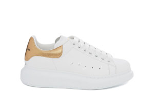 Alexander McQueen  Oversized Light Gold (W) White (553770WHFBU9075)