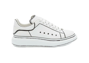 Alexander McQueen  Oversized White Black Outline White/Black (627867WHYBI9061)