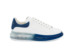Alexander McQueen  Oversized Worker Blue Sole White (604232WHX9V9098)