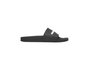 Balenciaga  Pool Slide Black White Black (565826 W1S80 1006)