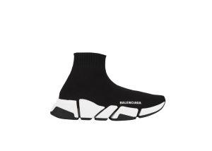 Balenciaga  Speed 2.0 Black White (W) Black/White (617196W17021015)