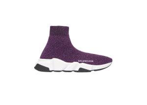 Balenciaga  Speed Purple Lurex (W) Purple (593698 W0682 5103)
