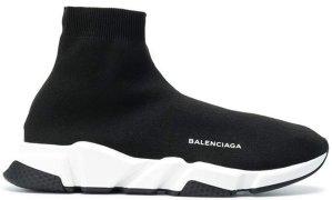 Balenciaga  Speed Trainer Black White Black Black/White-Black (506363-W05G0-1000)