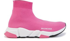 Balenciaga  Speed Trainers Mid Pink White (W) Pink (587280 W1721 5000)