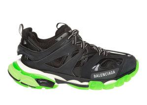 Balenciaga  Track Black Glow-In-The-Dark (W) Black/Green (570390 W1GB1 1003)