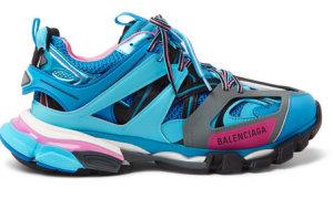 Balenciaga  Track Runners Blue Blue (542023W1GB54162)