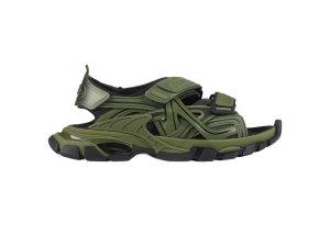 Balenciaga  Track Sandal Kaki Kaki/Black (617542W2FH12311)