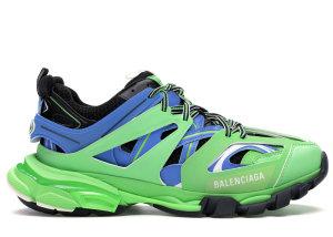Balenciaga  Track Trainers Green Blue Green/Blue (542023W1GB8)
