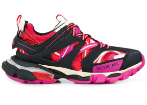 Balenciaga  Track Trainers Pink Red (W) Black/Red/Pink (542436 W1GC1 1052)
