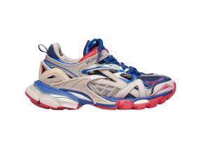 Balenciaga  Track.2 Beige Blue Red (W) Beige/Blue/Red (568615 W2GN2 8570)