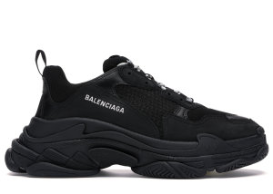 Balenciaga  Triple S Black (2019) Black/Black (534217 W09O1 1000)