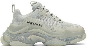 Balenciaga  Triple S Clear Sole (W) Grey (544351 W09O1 1705)