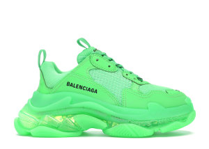 Balenciaga  Triple S Neon Green Clear Sole (W) Neon Green (544351 W09OL 3801)