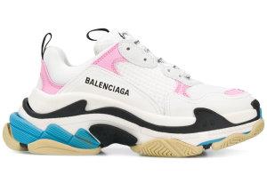 Balenciaga  Triple S Pink Teal (W) White (524039 W09O M9054)