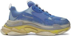 Balenciaga  Triple S SSense Blue/Yellow (172342M237004)