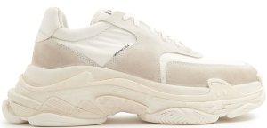 Balenciaga  Triple S White Ecru White/White (506346 W09T1 9000)