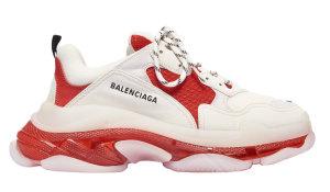 Balenciaga  Triple S Vermillon White/Red (541624W09OH6506)