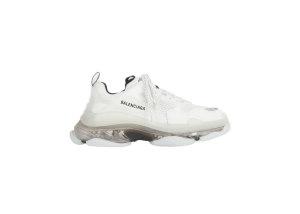 Balenciaga Blalenciaga Triple S Clear Sole White Grey White/Grey (541624W2GS19012)