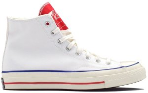 Converse  Chuck Taylor All-Star 70s Hi Twisted Tongue White Red White/University Red-Egret (166826C)