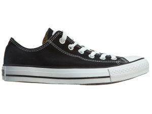 Converse  Chuck Taylor All Star Ox Black – M9166 Black Black (M9166)