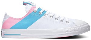 Converse  Chuck Taylor All-Star Ox Pride (2020) White/90s Pink-Gnarly Blue (167760C)