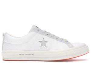 Converse  One Star Ox Carhartt WIP White White/White-Vibrant Orange (162821C)