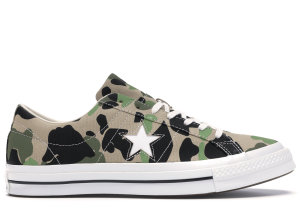 Converse  One Star Ox Duck Camo Candied Ginger/Piquant Green (165027C)