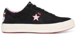 Converse  One Star Ox Hello Kitty Black Black/Prism Pink-Egret (162938C)