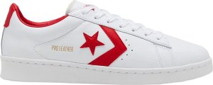 Converse  Pro Leather Ox White Red White/University Red-White (167970C)