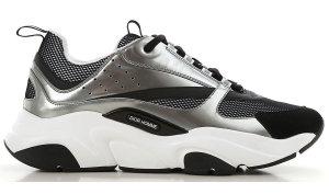 Dior  B22 Silver Black Silver/Black/White (3SN231YIY_H169)