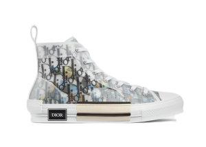 Dior  B23 High Top Alex Foxton Oblique White (3SH118YTH_H562)