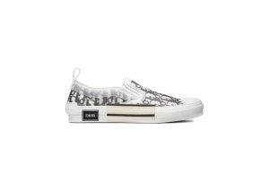 Dior  And Shawn B23 Slip On Logo Oblique Black/White (3SN262YJP_H069)