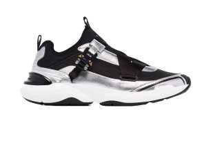 Dior  x Sorayama B24 Runtek Black Silver Black/Silver (3SH119YNK_H169)