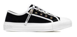 Dior  Walk'N' Low Top Black Canvas (W) Black (KCK177CVA_S12X)