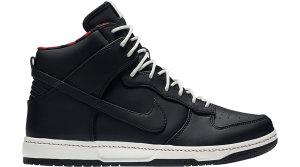 Nike  Dunk High Ultra Rain Black/Sail Sport Red (845055 002)
