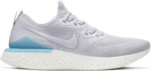 Nike  Epic React Flyknit 2 Vast Grey Vast Grey Blue Lagoon Sail Vast Grey (BQ8928-006)