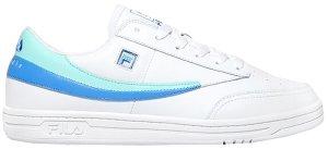 Fila  Tennis 88 Biggie Smalls White White/Fair Aqua-Wedgewood (1TM00618-147)