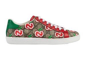 Gucci  Ace Chinese Valentine's Day (W) Beige/Brown/Red (_627860 2BQ10 8480)